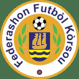 The official logo of Federashon Futbol Korsou.
