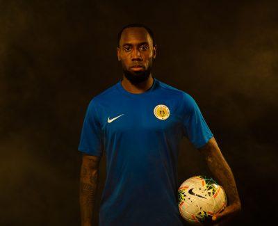 Vurnon Anita made his debut for the Curacao national football team.