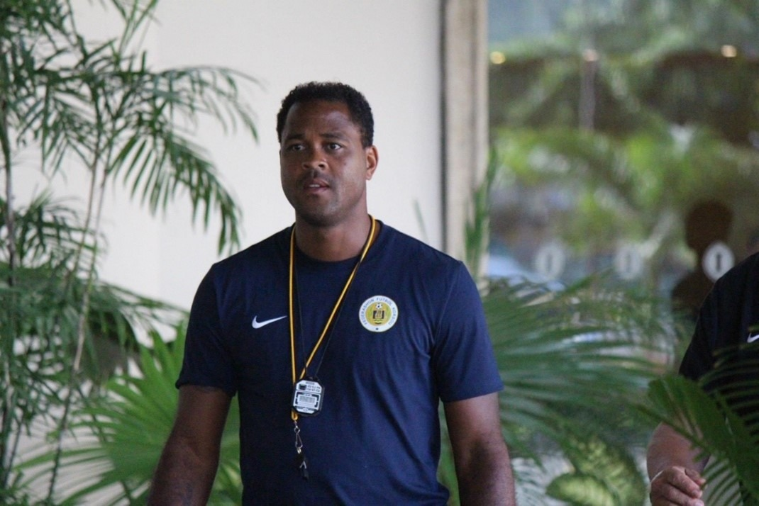 Patrick Kluivert, the official football manager of the national teams of Curacao United.